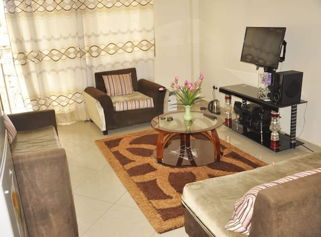 A three bedroom apartment in Naalya