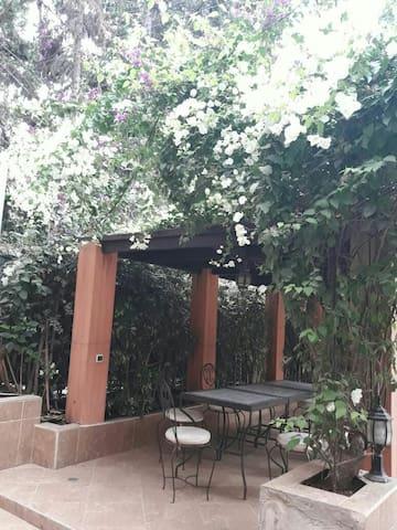 Villa agadir avec jolie petit jardin de charme