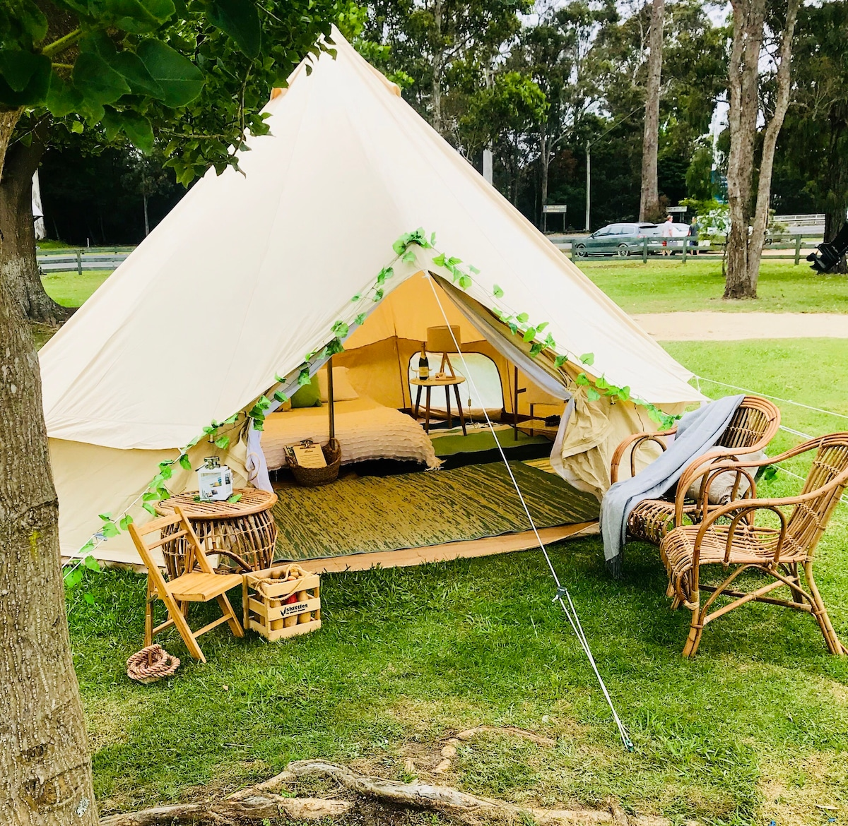 South Coast Luxury C&ing 5 Star Belle tent hire - Tents for Rent in Merimbula New South Wales Australia & South Coast Luxury Camping 5 Star Belle tent hire - Tents for Rent ...