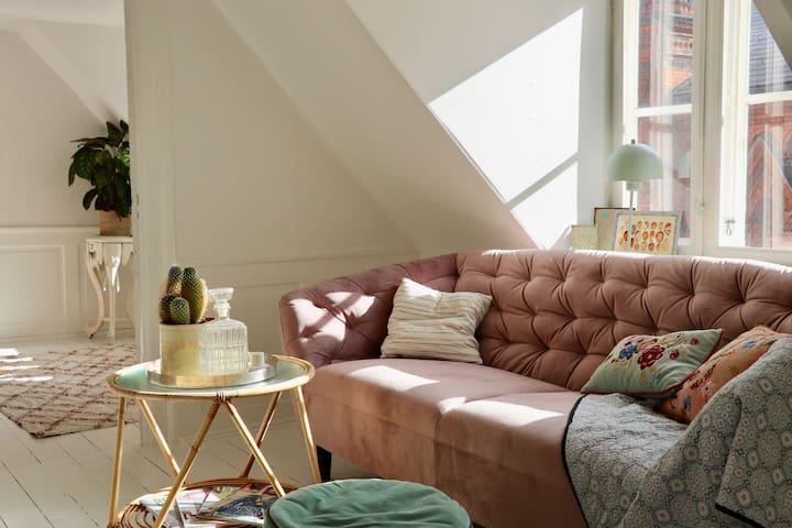 Charming apartment in the center of Copenhagen!
