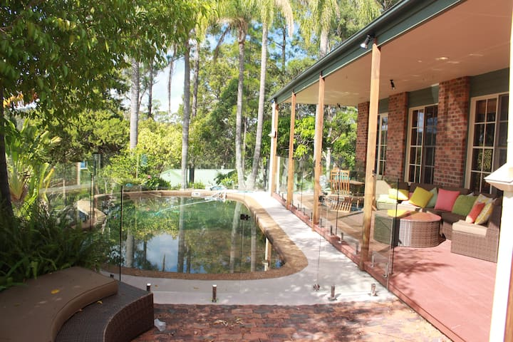 "The "" RANCH "" Gold Coast farm style accommodation - Mudgeeraba - Gästehaus"