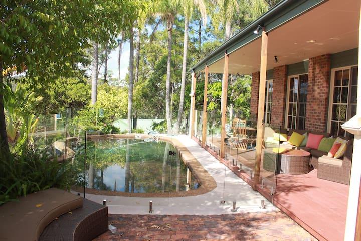 "The "" RANCH "" Gold Coast farm style accommodation - Mudgeeraba - Gjestehus"