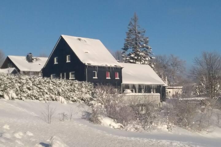 Piso de vacaciones con derecho a uso del jardín ubicado cerca de Winterberg