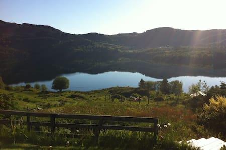Beautiful pearl, near Bergen - Sæbøvågen - 一軒家