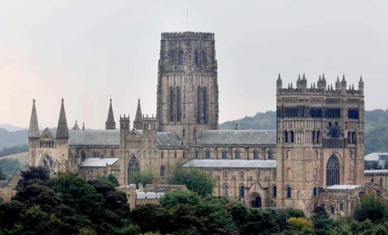 Durham city apartment 5 minute walk to town