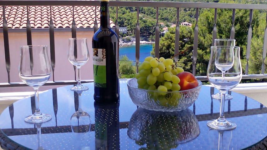 Villa Barunesa - A4 (B&W) FIRST MINUTE JUNE! - Stomorska - Wohnung