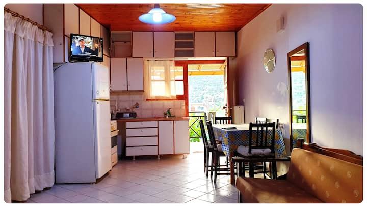 Διαμέρισμα 2 Γλυφάδα Φωκίδας Οιάνθη Ianthi Rentals
