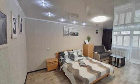 Уютная квартира с домашней теплой атмосферой