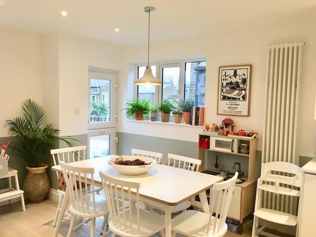Beautiful, light, airy duplex apartment