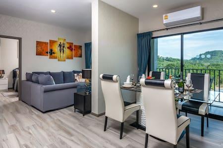 2 Bedroom Luxurious Apartment @Nai Yang beach–250m