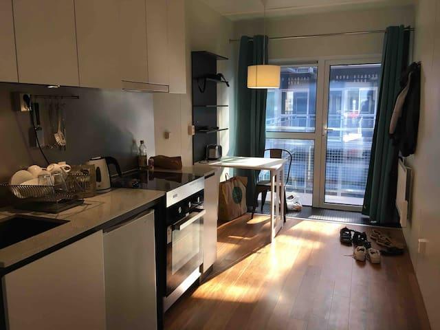 Central studio apartment in Gothenburg
