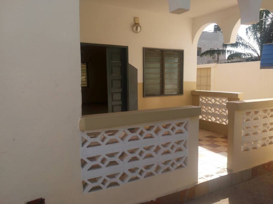 Une belle terrasse pour prendre de l'air