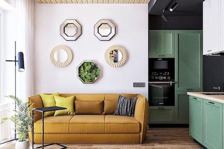 Стильная и уютная квартира в центре Казани