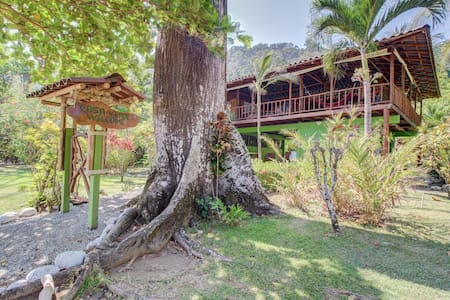 Dog-friendly, waterfront home w/ a full kitchen & private pool - walk to beach!