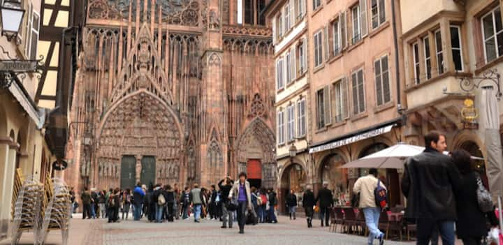 Cathédrale cœur de ville