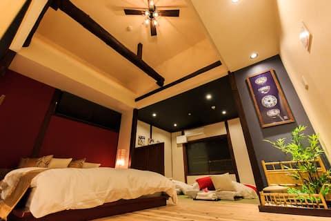 Traditional Japanese Inn★Max 6 plp★Full renovation