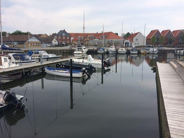 Bo på havnefronten