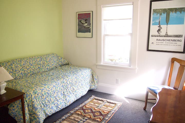 Sunlit studio apartment near campus