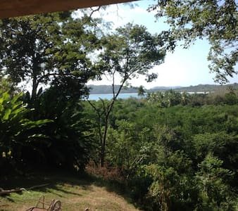 Bungalow Ocean View, Rustic Style, private terrace - Puerto Carrillo