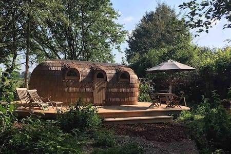 "NIEUW in Nederland  "" Wood House & Sauna """