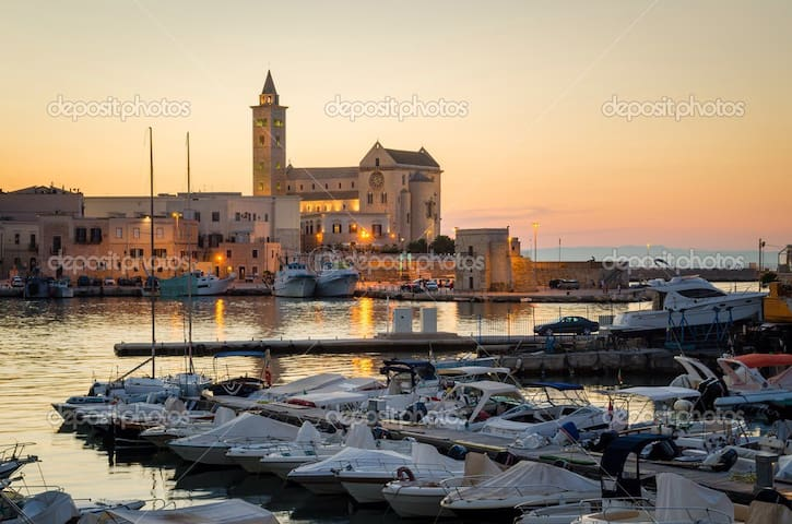 Beautiful view over the cathedral - Trani - Apartment