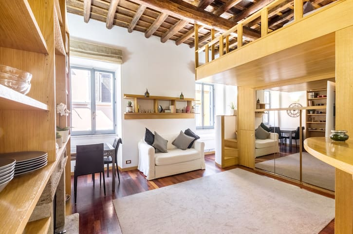 NEW! - CHARMING LOFT BORGO PIO NEAR THE VATICAN