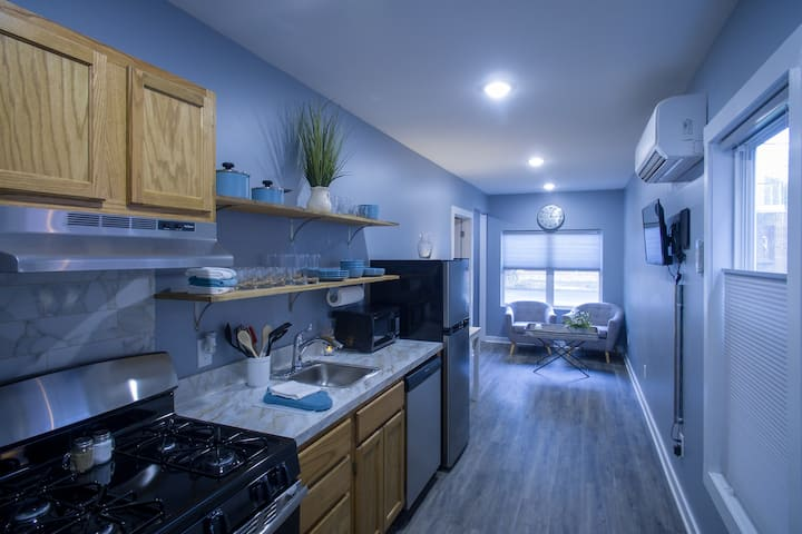 Smith Container Home: near Blue Stallion & W6th