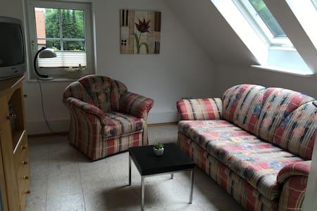 Geräumige Wohnung nähe Zentrum und Stadtwald - Oldenburg - Apartamento