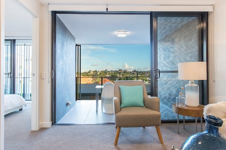 Brand New Modern Apartment in Brisbane with View - Lutwyche