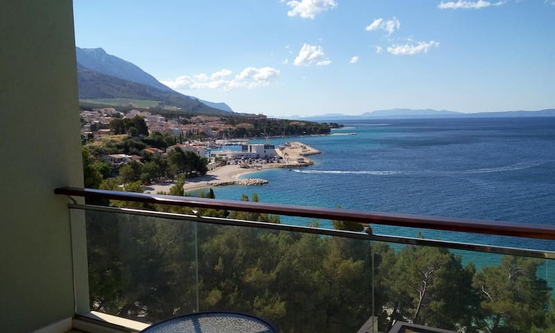 Villa Junona, 2 rooms 55 sq m, big seaview balcony