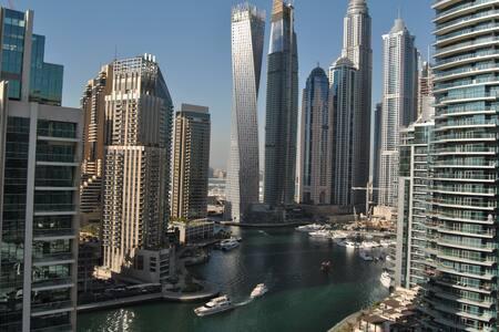 Marina View-En Suite Room w/Priv. Bathroom&Balcony - 두바이(Dubai)