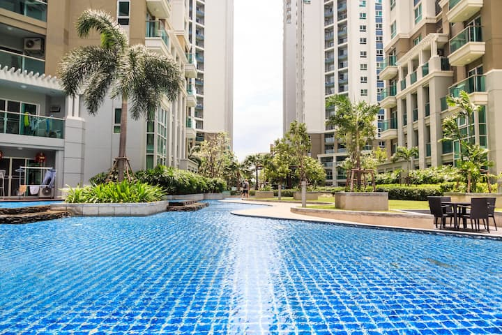 Lovely Resort-like Condo in BKK中文服务
