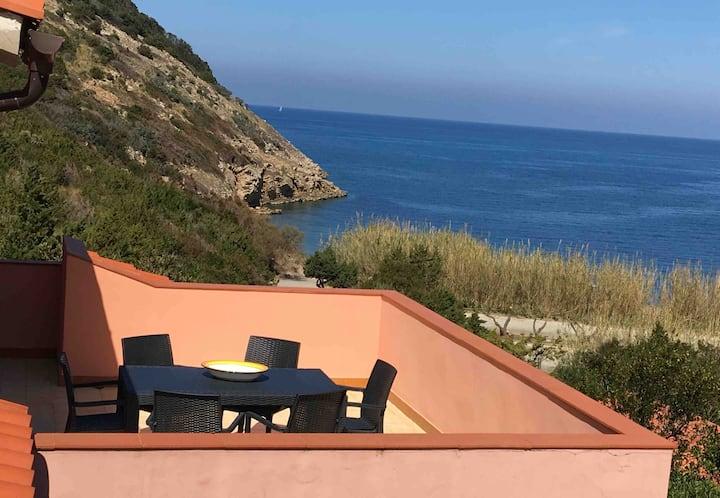 Terrazza sul Mare to the Elba Island
