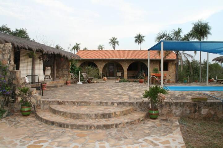 An oasis of calm amongst nature - Caacupé