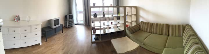 Quiet and simply furnished apartment