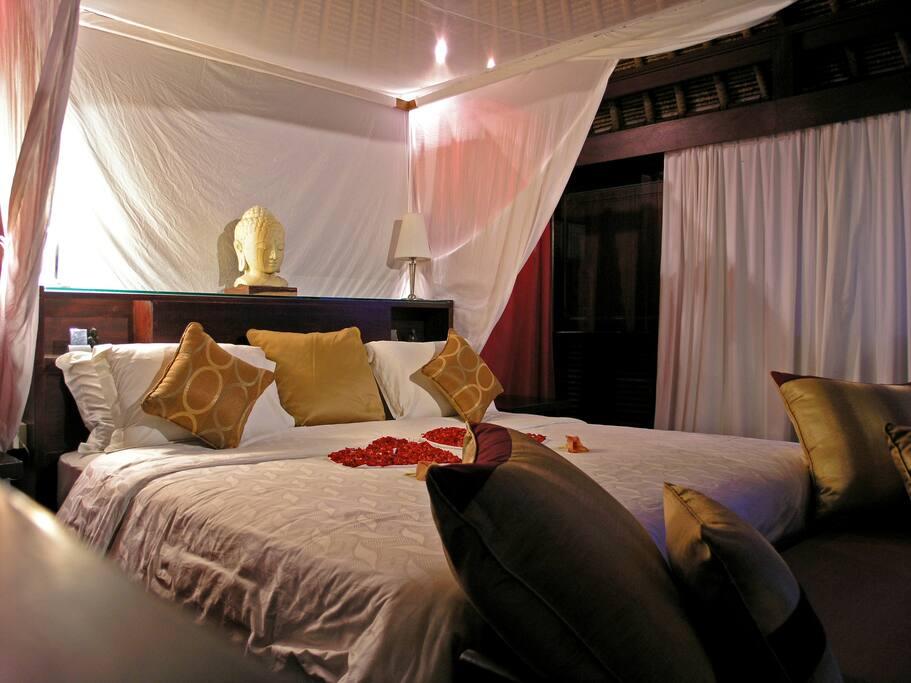 Lotus Pavilion bedroom
