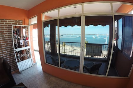Ocean Front Private Apartment 1 - La Paz