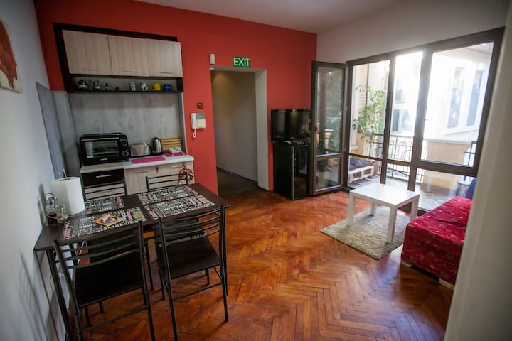 Central Entire home located in the heart of Sofia