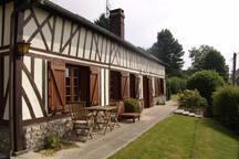 Cottage normand avec vue imprenable sur la vallée