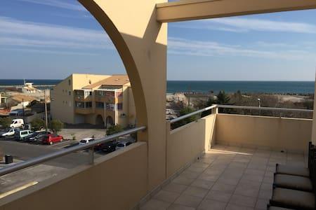 Trés bien situe vue mer et port - Frontignan
