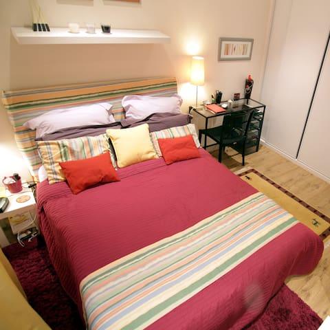 Appartement 2 p calme charme XVeme