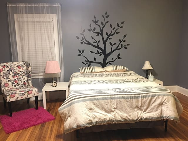 Master Suite in NoDa: Charlotte's Art District