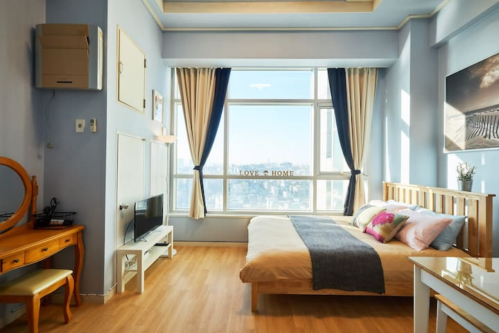 Beautiful loft 17 Seoul station 3mins - Yongsan-gu - Apartment