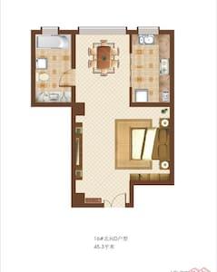 单身公寓 - Weinan Shi - Apartamento