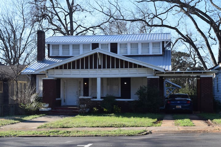 Historic Craftsman Bungalow in Bessemer, AL.