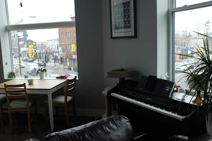 Beautiful 1bdrm Junction Loft with a view!