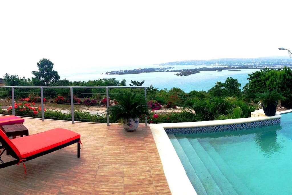 A view from your patio and pool deck