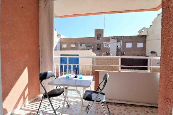 Lovely apartment near the beach in Los Alcázares