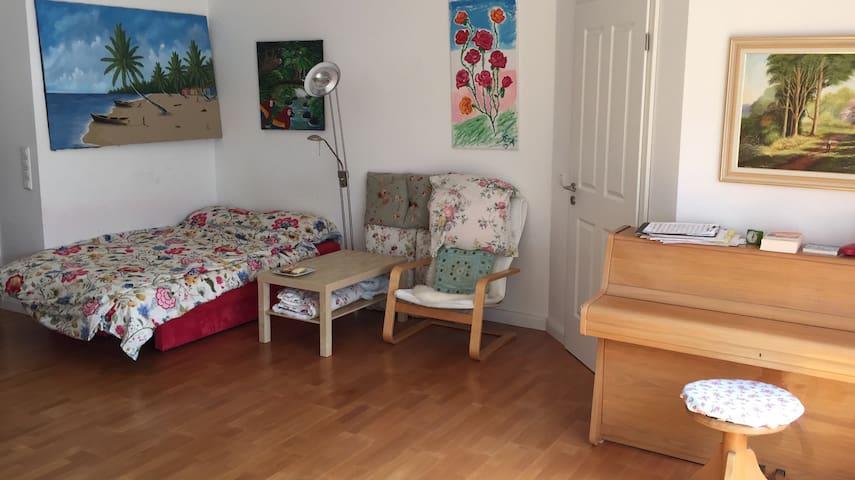 Gemeinsamgenutzte Maisonettewohnung - Grünenbach - Appartement