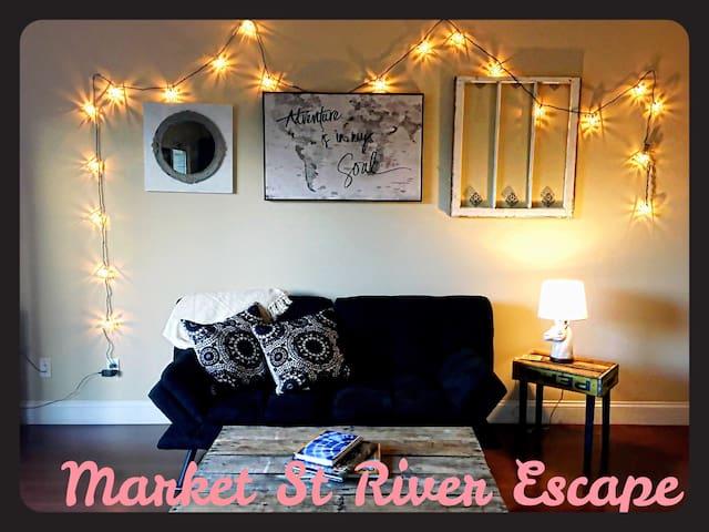 Market street river escape - Chattanooga - Appartement